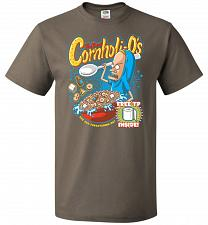Buy Cornholios Unisex T-Shirt Pop Culture Graphic Tee (6XL/Safari) Humor Funny Nerdy Geek