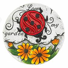 "Buy *18532U - Daisy Ladybug Love My Garden 10"" Cement Stepping Stone"