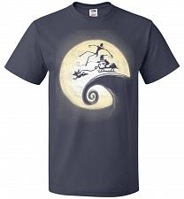 Buy Nightmare Before Grinchmas Unisex T-Shirt Pop Culture Graphic Tee (S/J Navy) Humor Fu