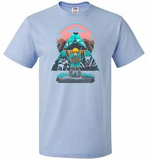 Buy Wild On! Unisex T-Shirt Pop Culture Graphic Tee (3XL/Light Blue) Humor Funny Nerdy Ge