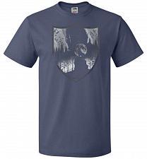 Buy Direwolves House Unisex T-Shirt Pop Culture Graphic Tee (6XL/Denim) Humor Funny Nerdy
