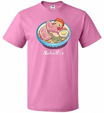 Buy Noodle Swim Unisex T-Shirt Pop Culture Graphic Tee (XL/Azalea) Humor Funny Nerdy Geek