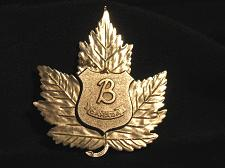 Buy Vintage Barnes Security Guard Badge Pin Medal Maple Leaf Canada Industrial
