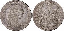 Buy 1681-HS German States Brandenburg 6 Groschen World Silver Coin PCGS XF Details