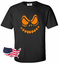 Buy Halloween T Shirt Stitch Face Jack O Lantern Spooky Fun Easy Costume Tee