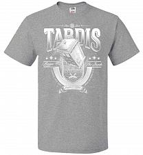 Buy Anywhere and Everywhere Tardis Unisex T-Shirt Pop Culture Graphic Tee (6XL/Athletic H