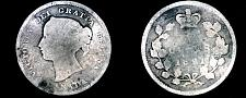 Buy 1891 Canada 5 Cent World Silver Coin - Canada - Victoria - Lot#9731