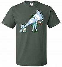 Buy Drenched Unisex T-Shirt Pop Culture Graphic Tee (L/Forest Green) Humor Funny Nerdy Ge