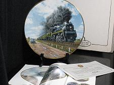 Buy Train Collector Plate Ted Xaras No Contest The Age of Steam Classic Car Vintage
