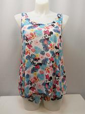 Buy DISNEY MINNIE Women 2 Piece Short Pajama Set SIZE XL Sleeveless Scoop Neck