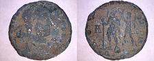 Buy 350AD Roman Imperial Constantius II AE22 - Soldier Spearing Horseman - SIS Mint