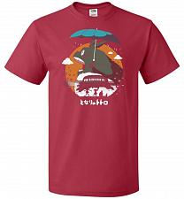 Buy The Neighbors Journey Unisex T-Shirt Pop Culture Graphic Tee (3XL/True Red) Humor Fun