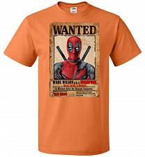Buy Deadpool Wanted Poster Youth Unisex T-Shirt Pop Culture Graphic Tee (Youth L/Tennesse