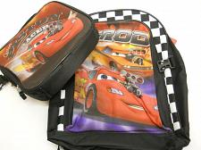 Buy Backpack With Lunchbox Disney Pixar Cars Multi One Size Detachable Lunch Kit