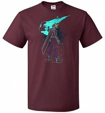 Buy Shadow Of The Meteor Unisex T-Shirt Pop Culture Graphic Tee (2XL/Maroon) Humor Funny