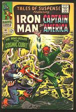 Buy Tales of Suspense #80 Fine- RED SKULL Captain America & IronMan 1966 COSMIC CUBE
