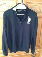 Buy Mens Black Sweater Size Medium by US Polo Association