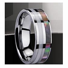 Buy coi Jewelry Tungsten Carbide Ring - TG2137(Size:#US6/7/8.5/11)