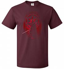 Buy Shadow Of The Empire Unisex T-Shirt Pop Culture Graphic Tee (4XL/Maroon) Humor Funny