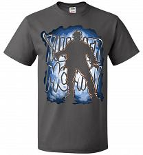 Buy Jason Voorhees Killer Mommy Adult Unisex T-Shirt Pop Culture Graphic Tee (2XL/Charcoa
