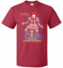 Buy Pennywise The Dancing Clown Adult Unisex T-Shirt Pop Culture Graphic Tee (XL/True Red