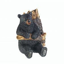 Buy *17736U - Bear In A Tree Wall Hook Plaque