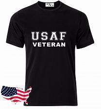 Buy USAF T Shirt VETERAN Navy Air Force US Army Marines USMC Military PT