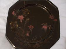 Buy Mikasa Ebony Meadow Dinner Plate Black Japan 10 3/8 inches Discontinued