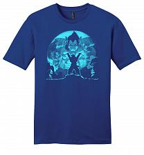 Buy Saiyan Sized Secret Youth Unisex T-Shirt Pop Culture Graphic Tee (2XL/Deep Royal) Hum