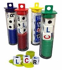 Buy (3) Lcr Dice Links Center Rechts Fast-Paced Familie Spiele 3 + Spieler