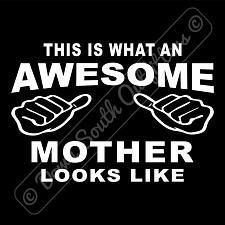 Buy This Is What An Awesome Mother Looks Like T-shirt (16 Tee Colors)