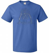 Buy Darth Smoke Unisex T-Shirt Pop Culture Graphic Tee (M/Royal) Humor Funny Nerdy Geeky