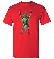 Buy It's Pickle Rick! Unisex T-Shirt Pop Culture Graphic Tee (Youth XL/Red) Humor Funny N