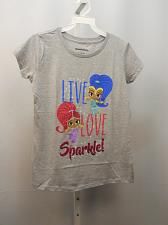 Buy NICKELODEON Girls Graphic Tee LIVE LOVE SPARKLE Size XL 14-16 Short Sleeves