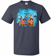 Buy Super Friends Unisex T-Shirt Pop Culture Graphic Tee (3XL/J Navy) Humor Funny Nerdy G