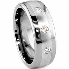 Buy coi Jewelry Titanium Wedding Band Ring - JT167(Size US4.5)