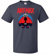 Buy Ant-Max Unisex T-Shirt Pop Culture Graphic Tee (L/J Navy) Humor Funny Nerdy Geeky Shi