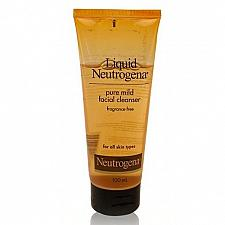 Buy Neutrogena Liquid Pure Mild Facial Cleanser Fragrance Free 100ml
