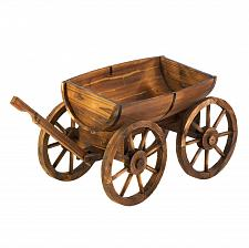 Buy *15795U - Apple Barrel Fir Wood Planter Wagon