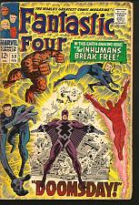 Buy Fantastic Four #59 Marvel Comics Stan Lee Jack Kirby 1967 INHUMANS Silver Age