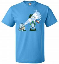 Buy Drenched Unisex T-Shirt Pop Culture Graphic Tee (6XL/Pacific Blue) Humor Funny Nerdy