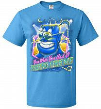 Buy Friend Like Me Adult Unisex T-Shirt Pop Culture Graphic Tee (3XL/Pacific Blue) Humor