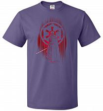 Buy Shadow Of The Empire Unisex T-Shirt Pop Culture Graphic Tee (L/Purple) Humor Funny Ne