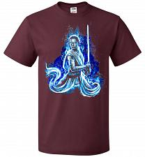 Buy Awaken Unisex T-Shirt Pop Culture Graphic Tee (S/Maroon) Humor Funny Nerdy Geeky Shir