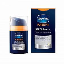 Buy Vaseline Men Antispot Skin Whitening Total Fairness Serum SPF 30 50 grams