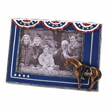 Buy 14958U - Fallen Heroes Pony Figure 4x6 Photo Frame Painted Pony Collection