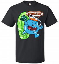 Buy Meseeks Man Unisex T-Shirt Pop Culture Graphic Tee (L/Black) Humor Funny Nerdy Geeky
