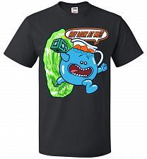 Buy Meseeks Man Unisex T-Shirt Pop Culture Graphic Tee (M/Black) Humor Funny Nerdy Geeky