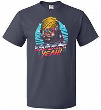 Buy Oh Yeah! Unisex T-Shirt Pop Culture Graphic Tee (4XL/J Navy) Humor Funny Nerdy Geeky