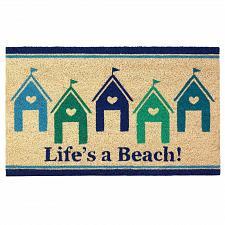 Buy *18120U - Life Is A Beach Entryway House Coir Doormat